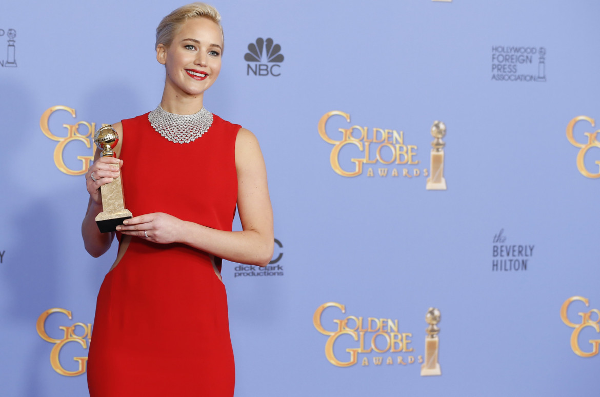 JLaw Criticized at Golden Globes