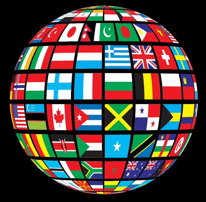 World Flags Globe